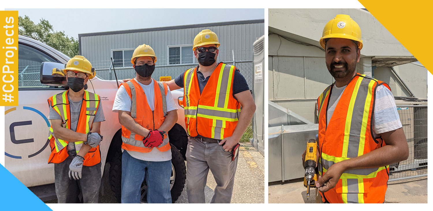 Clarke Construction Projects Dream Team