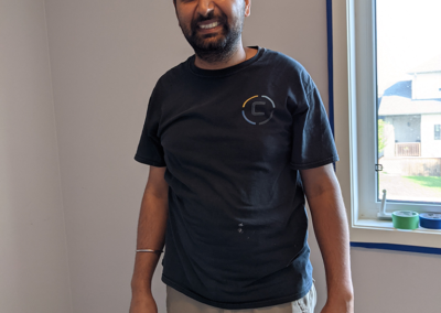 aman from clarke construction projects dream team