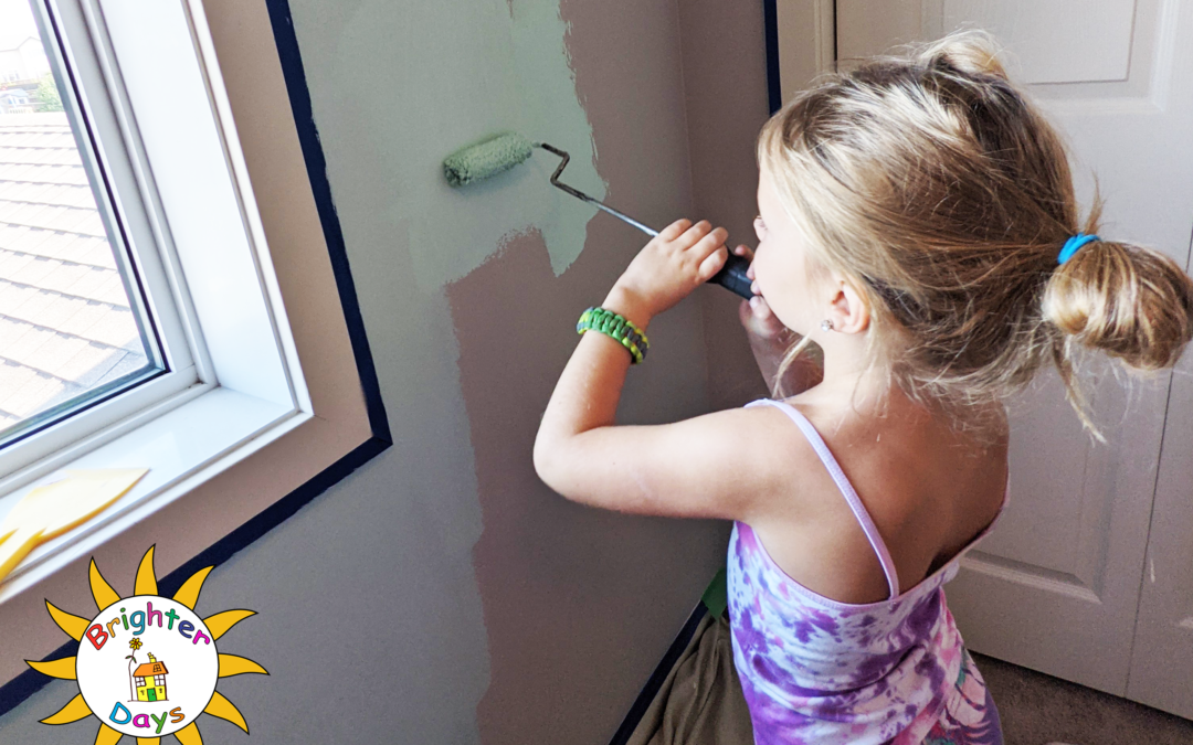 Day 1 of Charlee's Bedroom Makeover