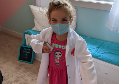 playing with doctor set