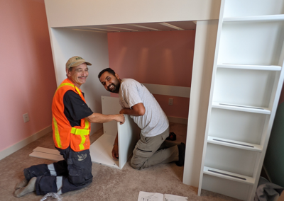 roger and aman from clarke construction projects